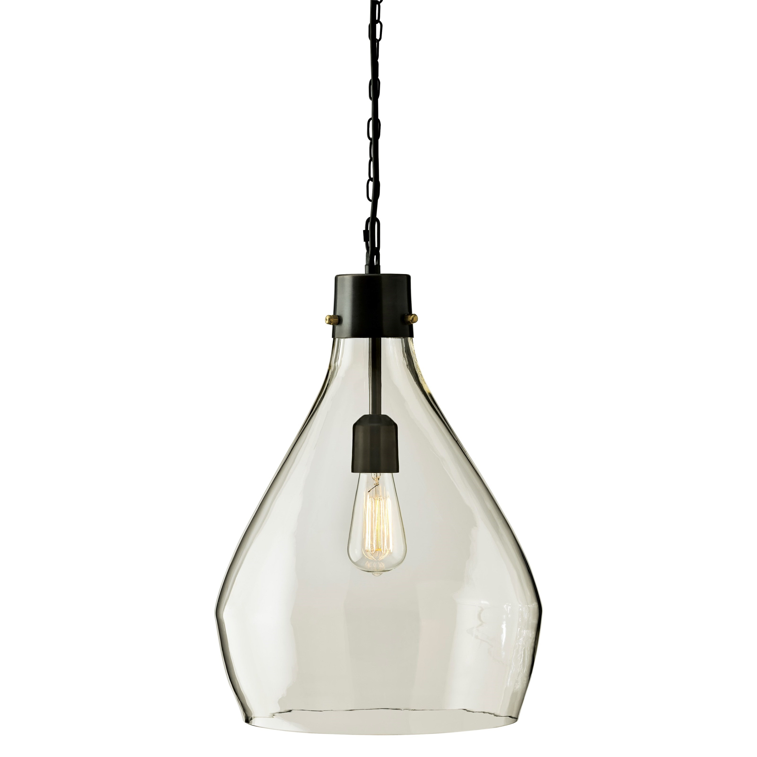 Clear Glass Pendant Light Signature Design By Ashley Pendant Lights L000468 Avalbane