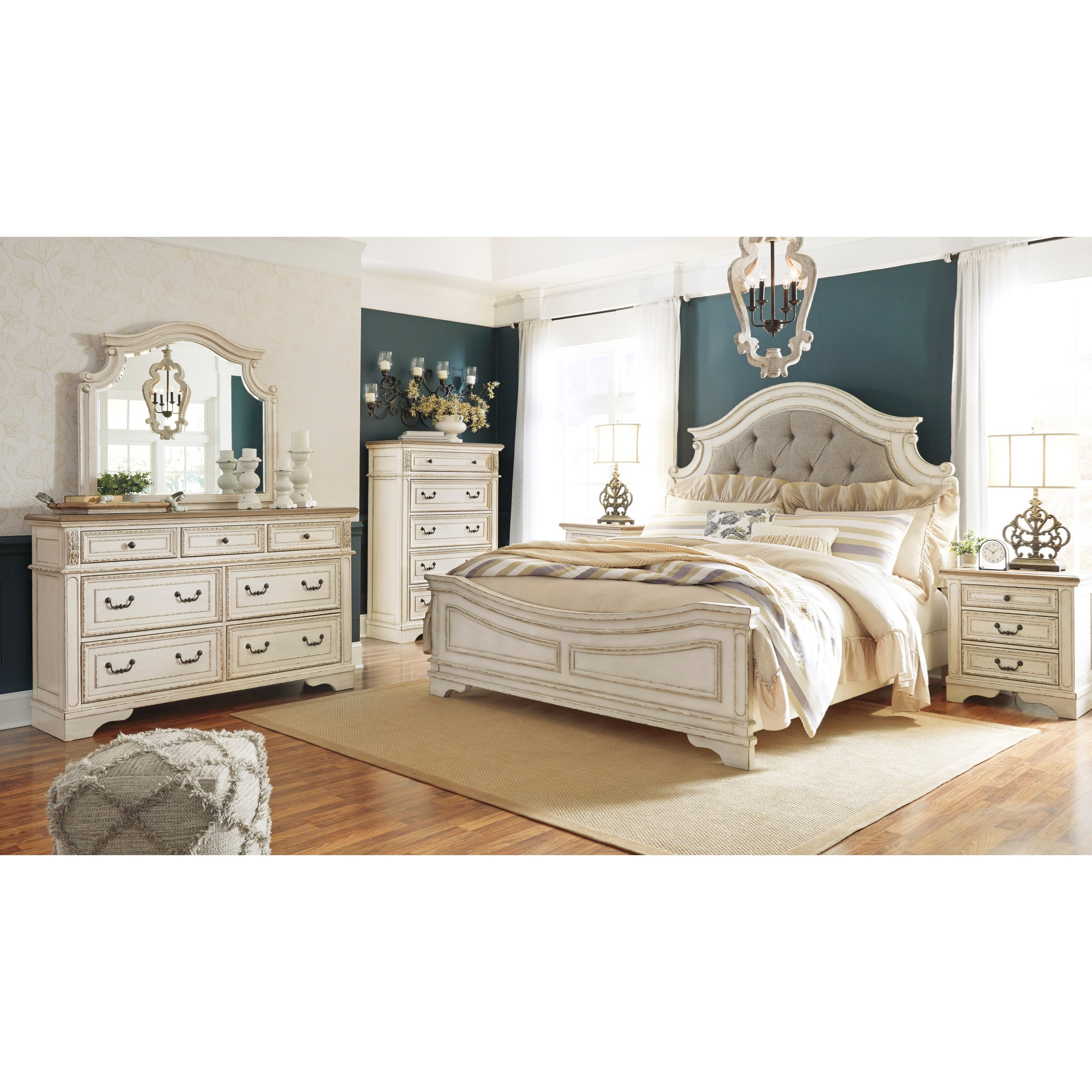 Two Bedroom Set Signature Design By Ashley Realyn Queen Bedroom Group