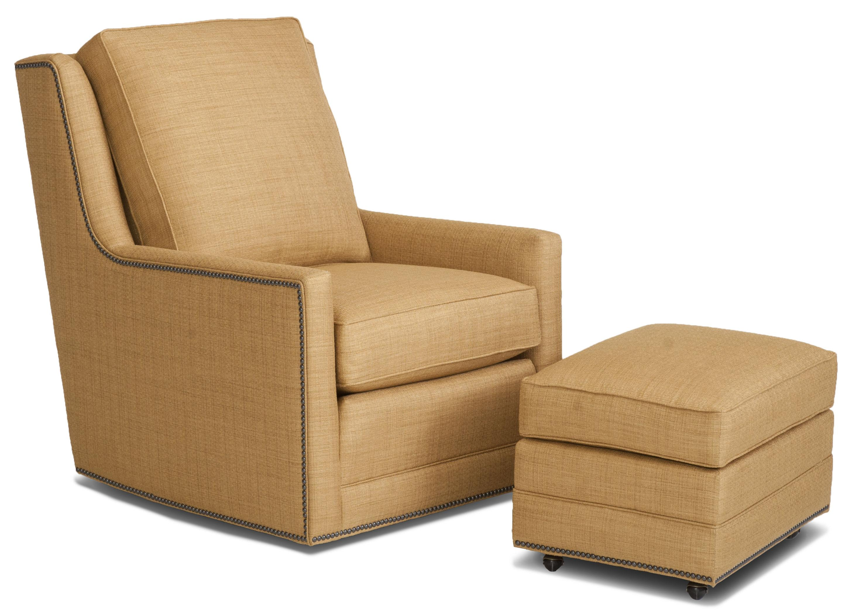 Fancy Swivel Chairs Smith Brothers Accent Chairs And Ottomans Sb Transitional