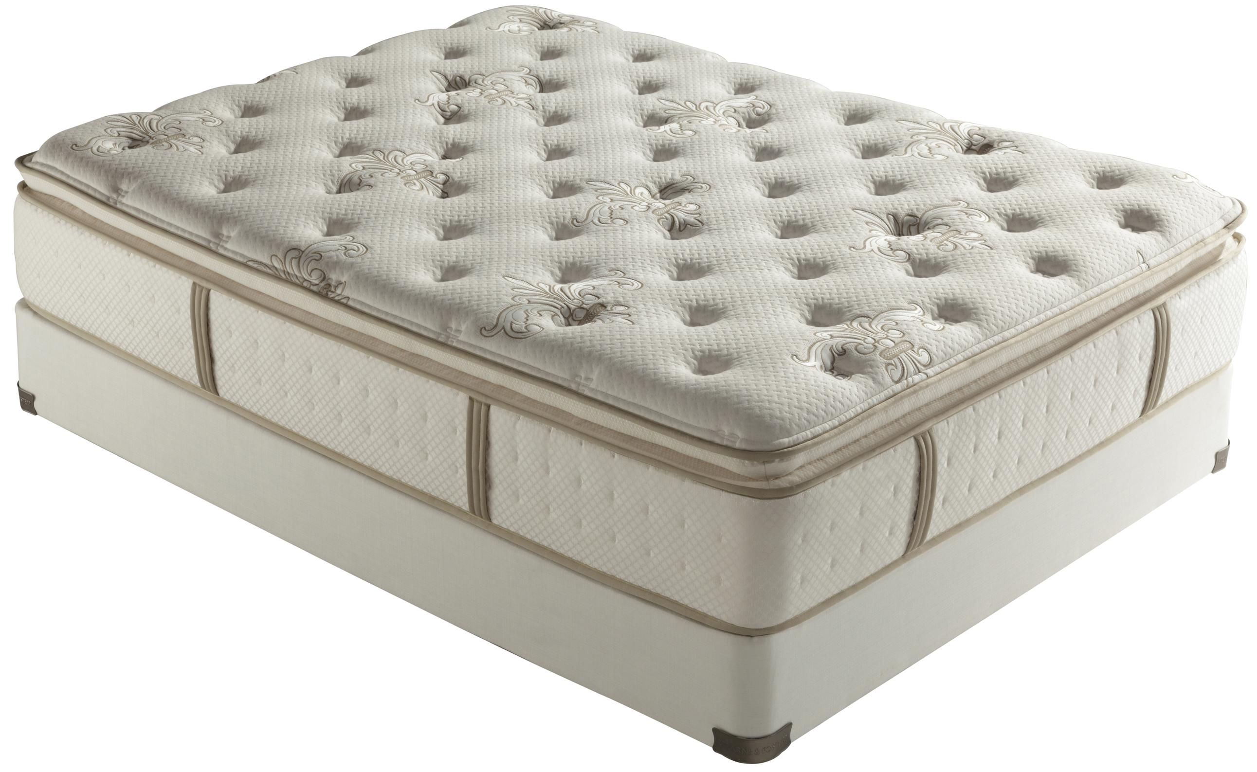 Low Profile Innerspring Mattress Stearns And Foster Core 2012 King Luxury Firm Euro Pillow