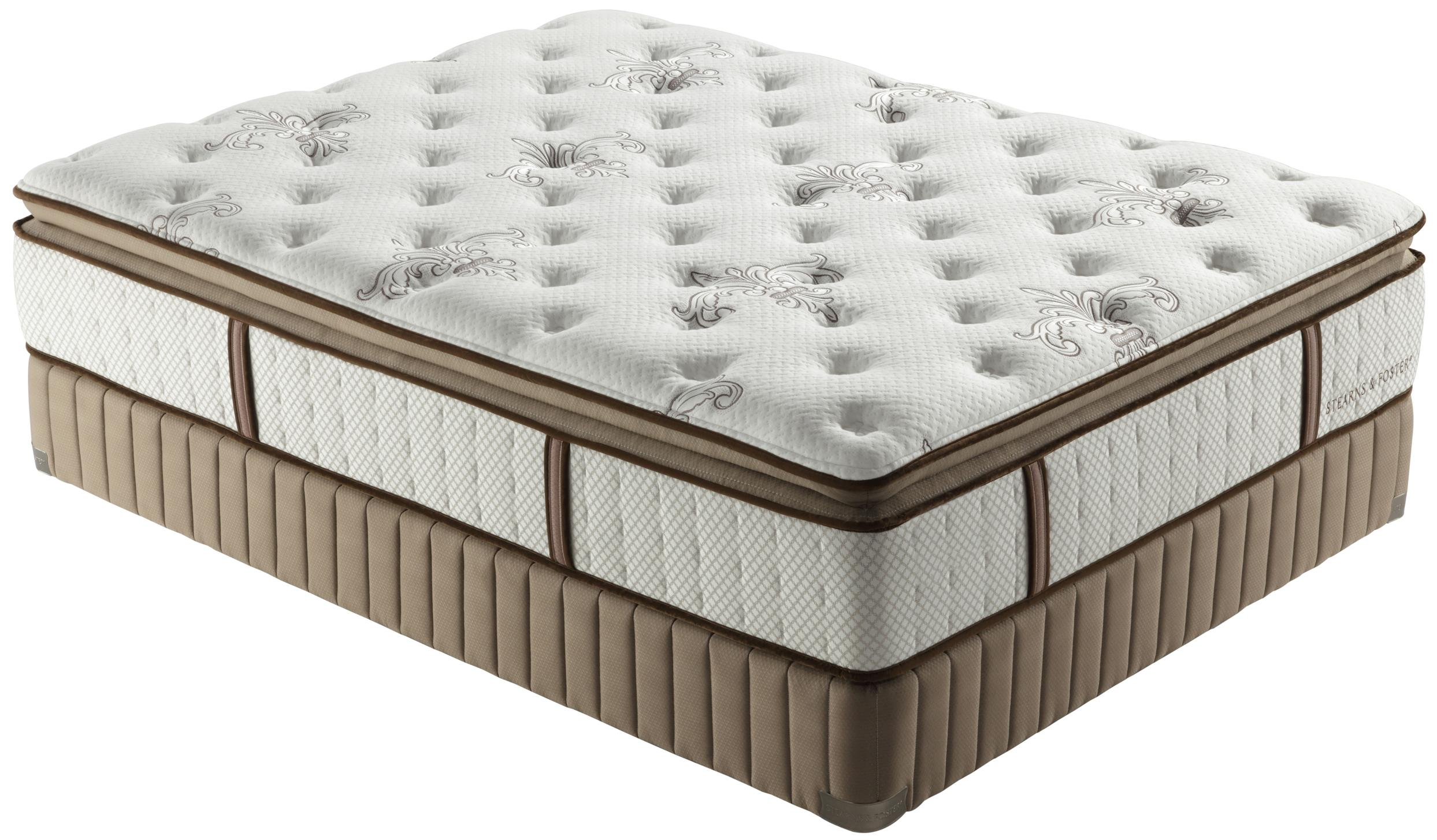 Low Profile Innerspring Mattress Stearns And Foster Estate 2012 King Luxury Firm Euro Pillow
