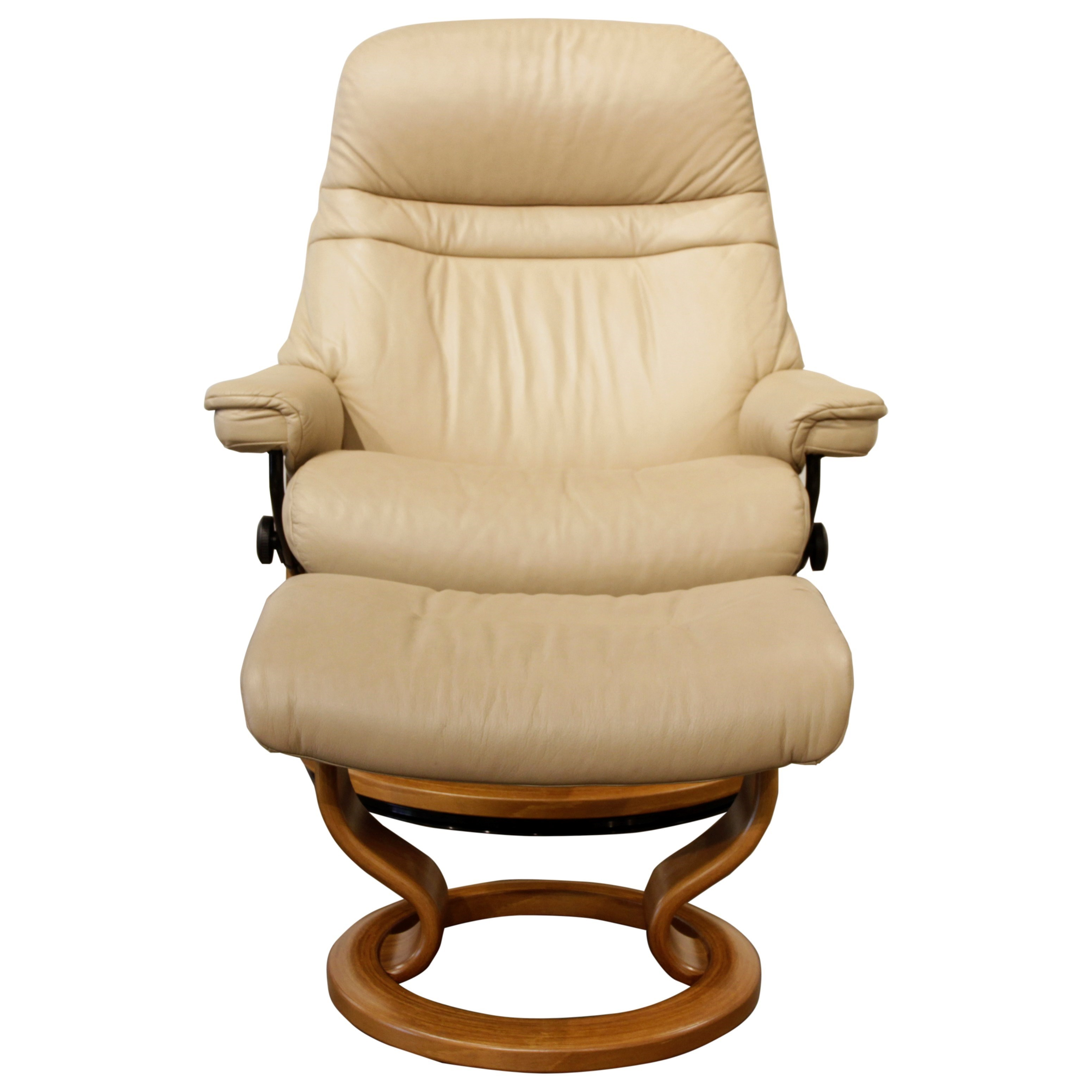 Stressless Sessel Inkl. Hocker Modell Sunrise (m) Classic Stressless Sessel Und Sofa