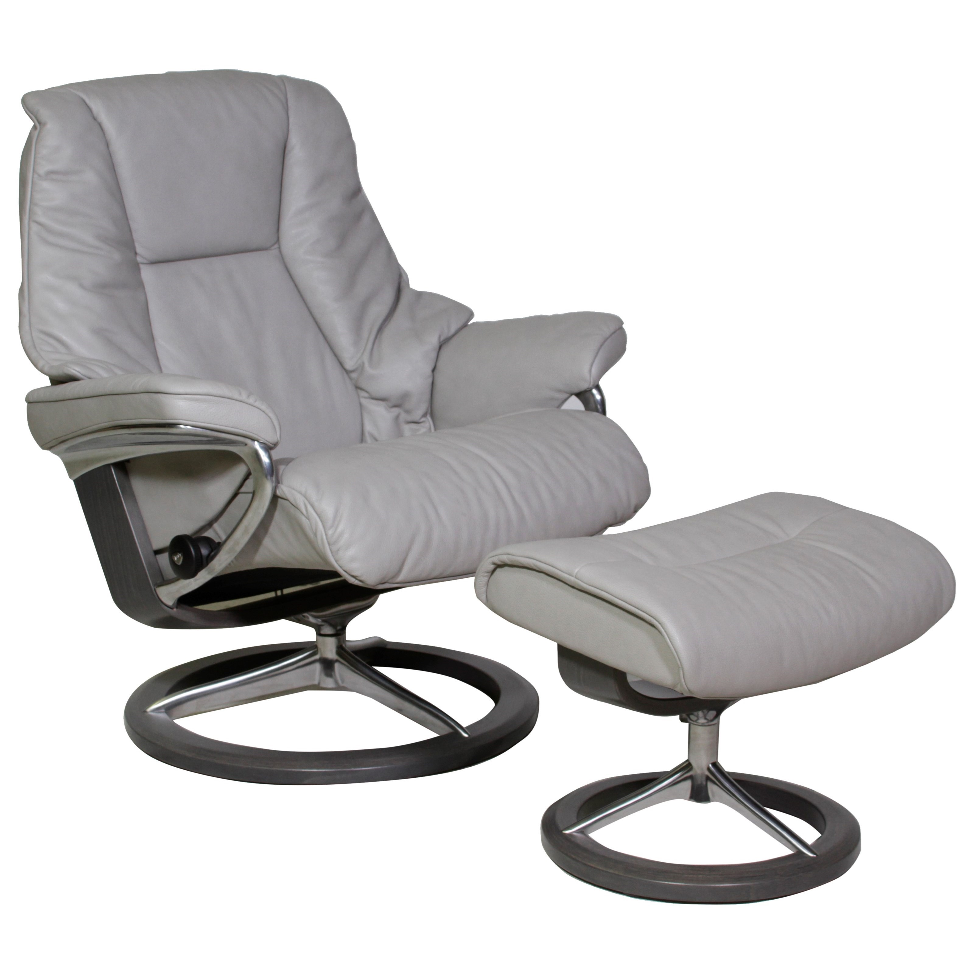 Stressless Sofa Adjustment Stressless Live Large Reclining Chair And Ottoman With