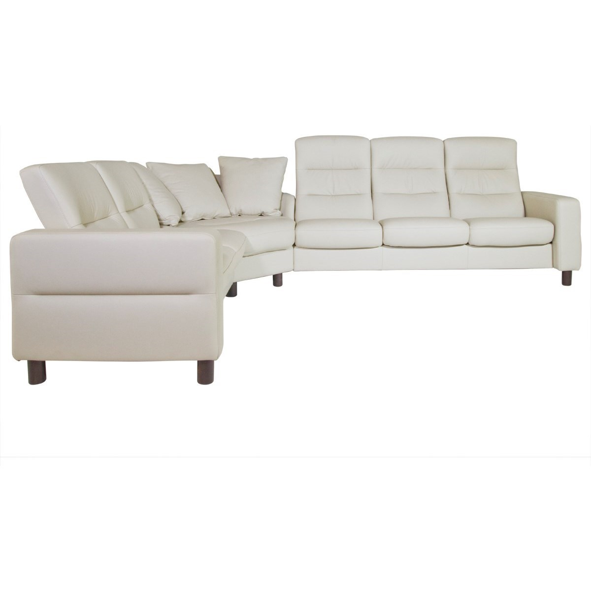 Stressless Wave Sofa Reviews Stressless Wave Reclining Sectional Homeworld Furniture