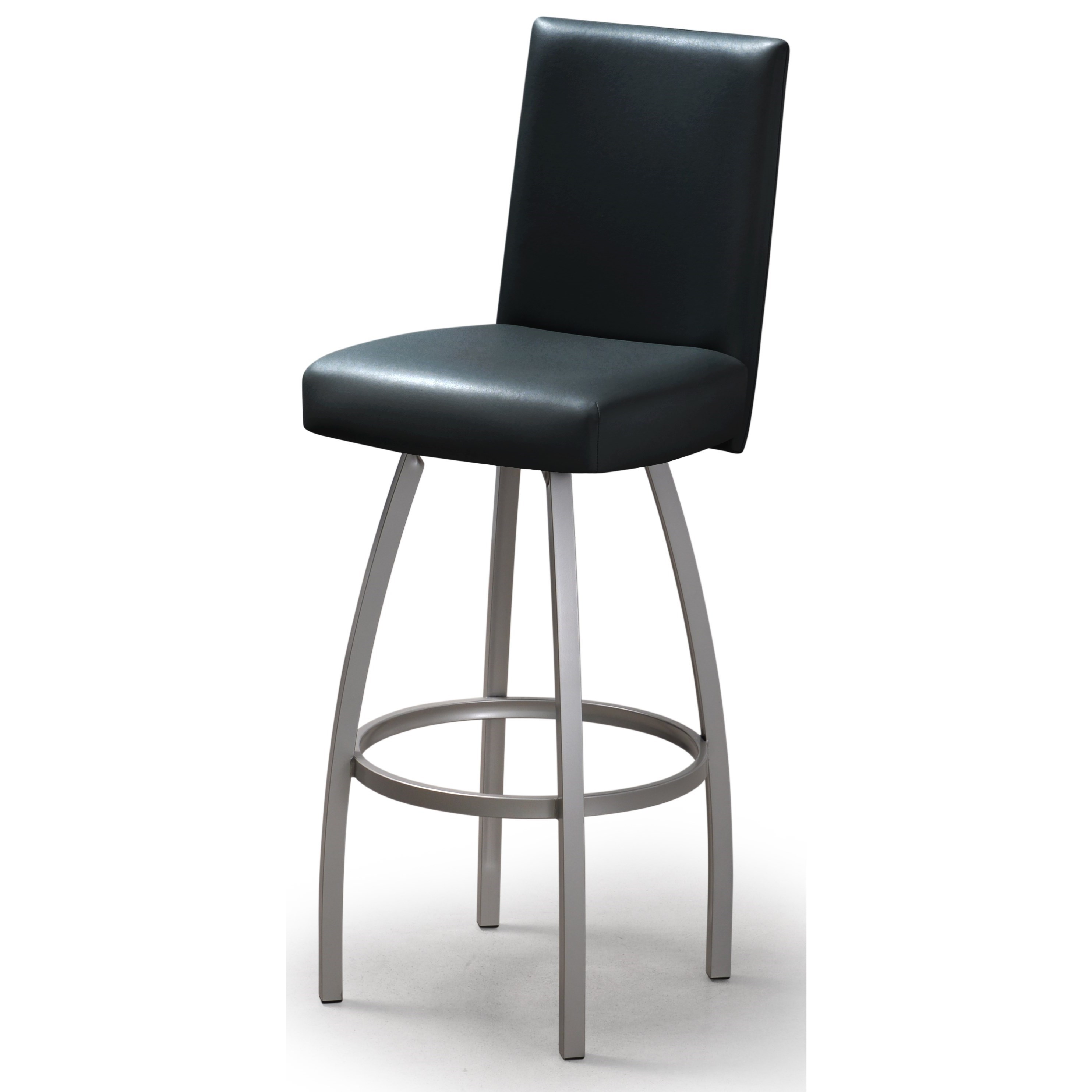 Contemporary Bar Stools Trica Contemporary Seating Nicholas Swivel Bar Stool