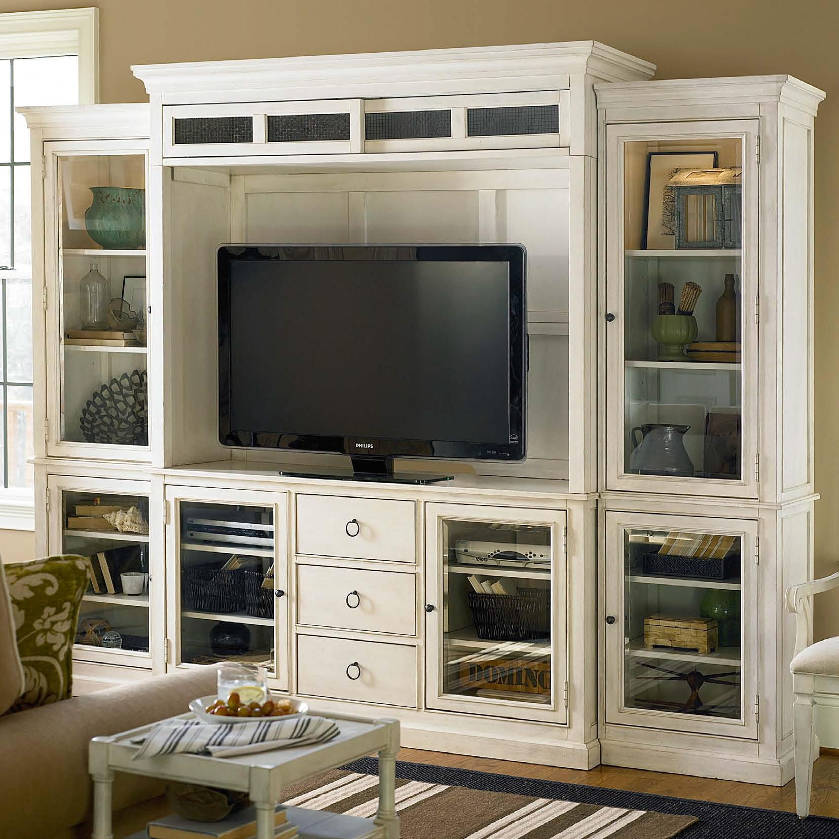 White Entertainment Wall Unit Universal Summer Hill 987968he Entertainment Wall Unit