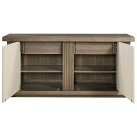 Universal Synchronicity Mid-Century Modern Credenza with ...