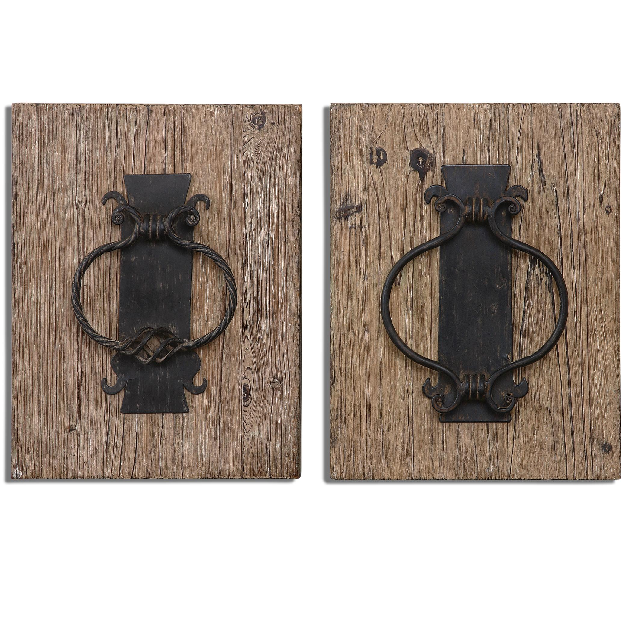 Rustic Door Knockers Uttermost Alternative Wall Decor 07654 Rustic Door