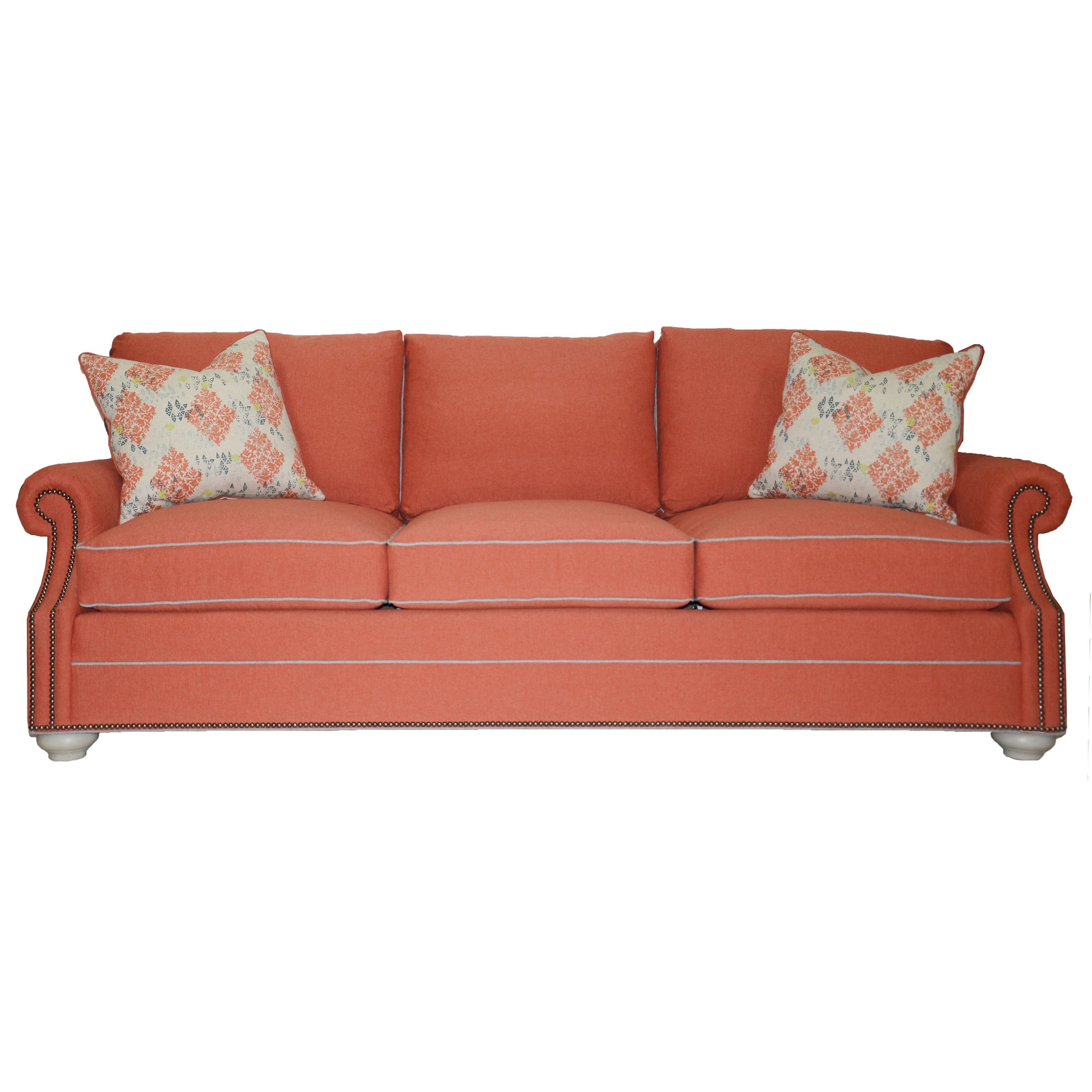 Vanguard Leather Vanguard Furniture American Bungalow 648 S Gutherly Sofa