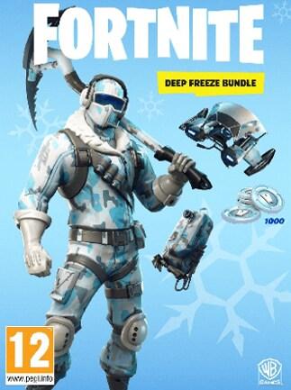 Fortnite Deep Freeze Bundle Epic Games PC Key GLOBAL - G2A.COM