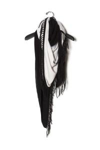 Bajra Triangle Knit Scarf from KES NYC | Garmentory
