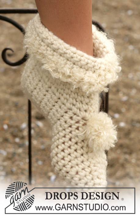 Over 100 Free Crocheted Slippers Patterns at AllCraftsnet