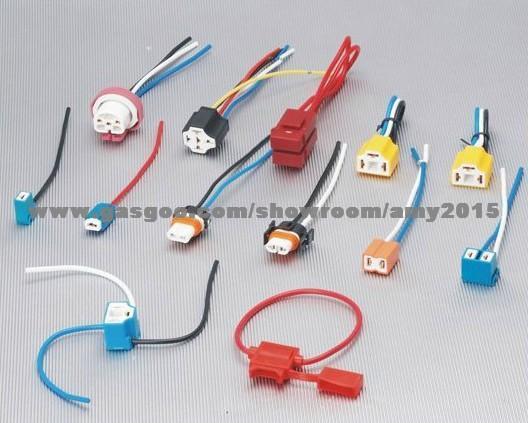 H4 Headlight Bulb Socket Holder Applicationauto Relay