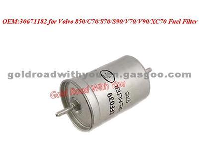 Fuel Filter 30671182 For Volvo 850/C70/S70/S90/V70/V90/XC70 30671182