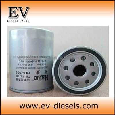 ISUZU Engine Oil Filter 6BG1T 6BG1 Fuel Filter 1-87610057-0 113240