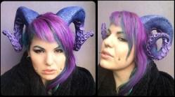 Tentacle horns turn you into an Elder goddess