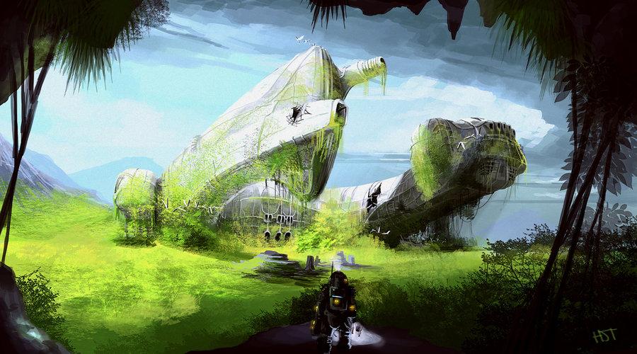 derelict_ship_2_by_highdarktemplar-d52x2e3