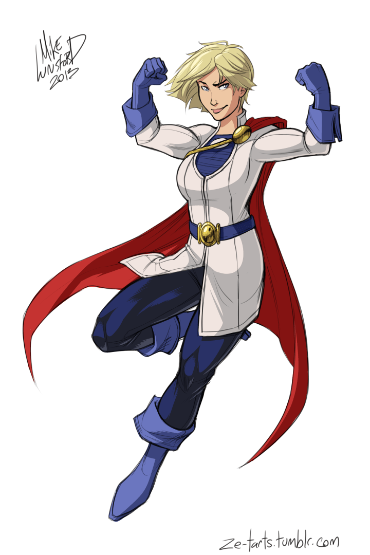 Fully Dressed Power Girl