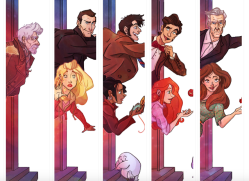 The Doctor Who gang
