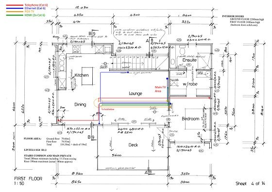 proposed electrical wiring diagram for new connection