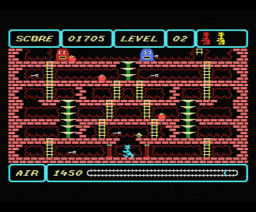 Spooks Ladders 1985 Msx Steven Wallis Sean Wallis