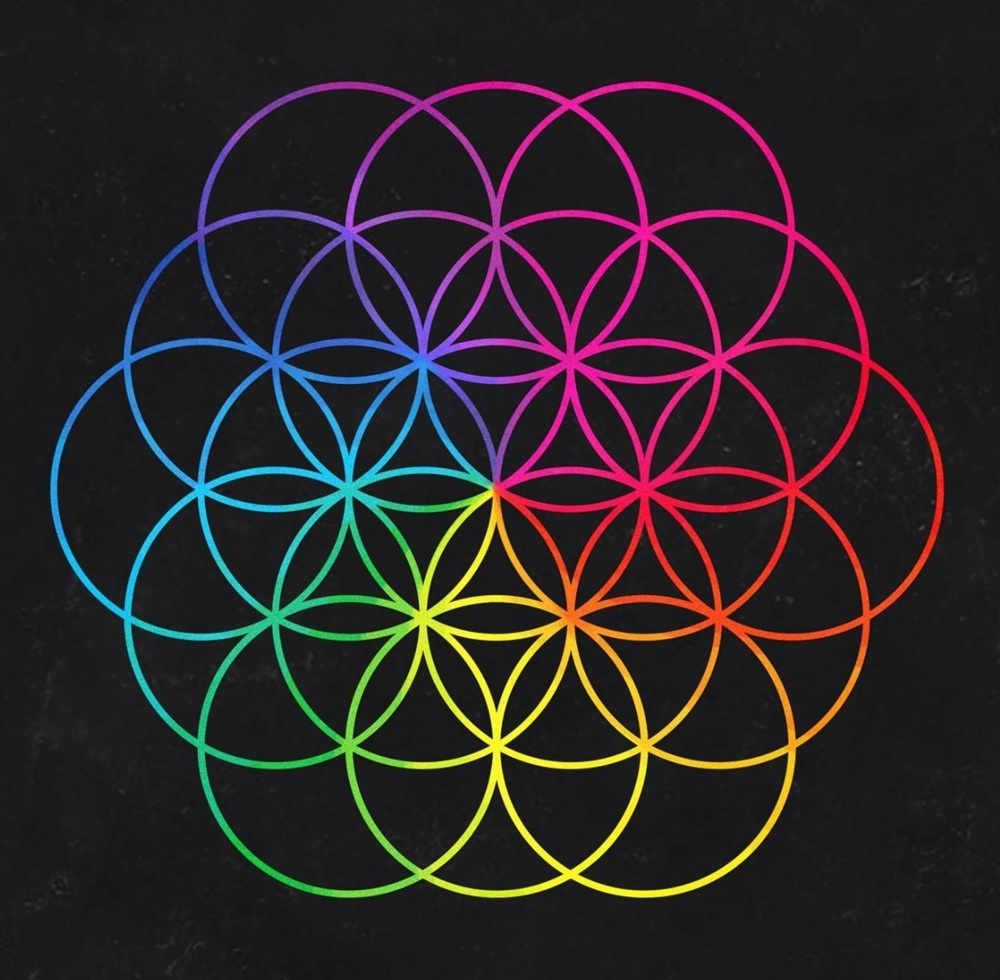 Purple Falling Circles Wallpaper Coldplay Everglow Lyrics Genius Lyrics