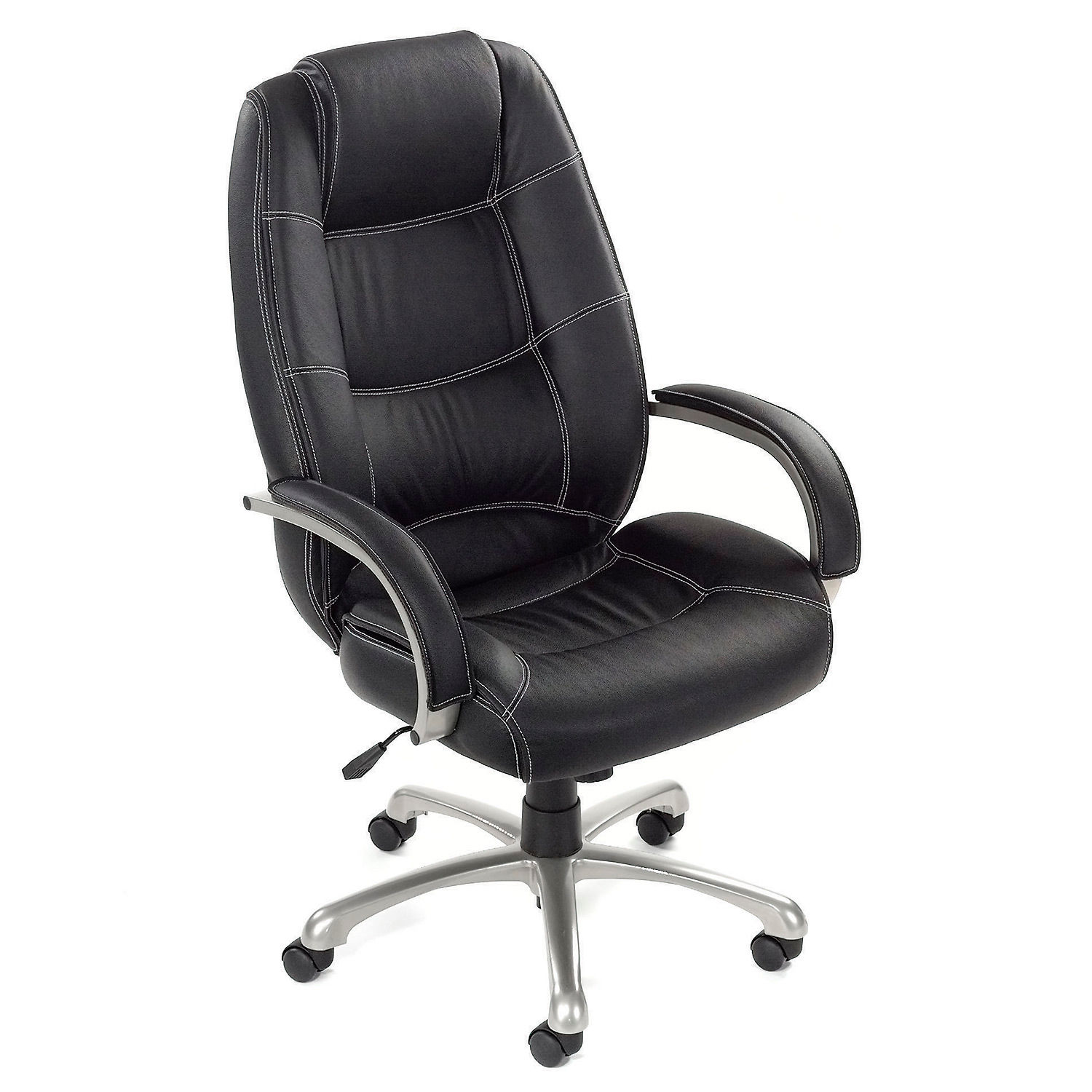 Saddle Office Chair Chairs Leather Upholstered Executive Office Chair With Arms