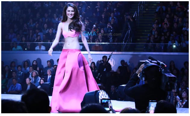 24 Im Tv Marian Rivera Crowned Bench's Queen In 'naked Truth' Event