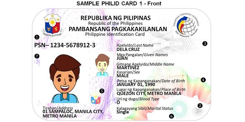 Initial sample of PHL national ID card News GMA News Online