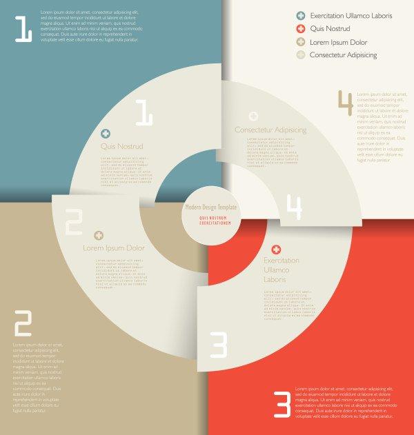 Beautiful Creative Arc Chart Design-vector Misc-free Vector Free