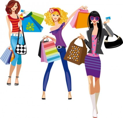 Female Fashion Illustrator Vector-vector Misc-free Vector Free Download