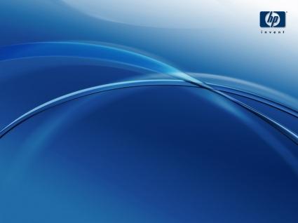 Bing 3d Wallpapers Computer Di Hp Hp Pulito Blu Carta Da Parati Computer