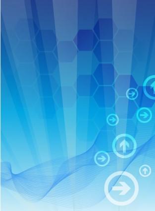 Wallpaper Teknologi 3d Teknologi Bisnis Abstrak Vektor Abstrak Vektor Gratis