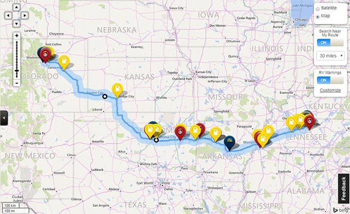 Trip Planner Good Sam Club - trip maker software