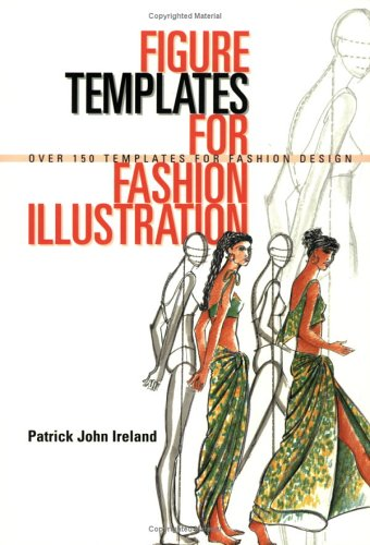Figure Templates for Fashion Illustration Over 150 Templates for