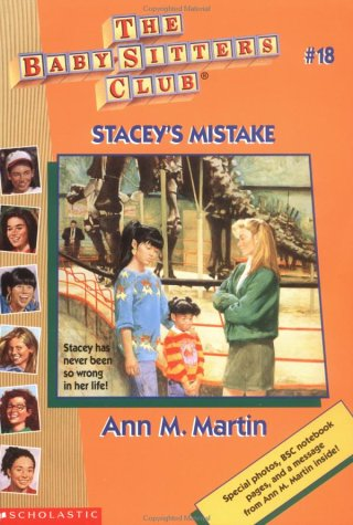 Stacey\u0027s Mistake (The Baby-Sitters Club, #18) by Ann M Martin