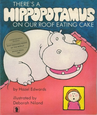 Read Books There's a Hippopotamus on our Roof Eating Cake Online