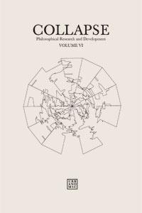 Read Books Collapse Vol. VI: Geo/Philosophy Online