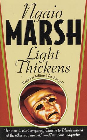 Read Books Light Thickens (Roderick Alleyn, #32) Online
