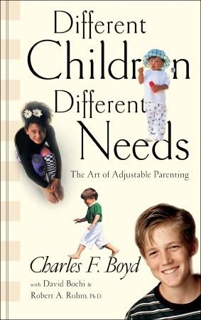 Different Children, Different Needs Understanding the Unique