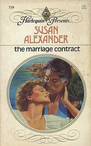 The Marriage Contract by Susan Alexander - marriage contract