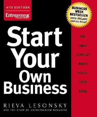 Start Your Own Business by Rieva Lesonsky - own business