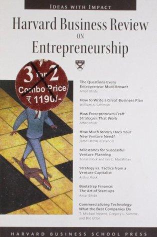 Harvard Business Review on Entrepreneurship by Harvard Business Review
