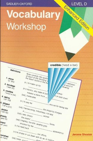 Vocabulary Workshop Level D by Jerome Shostak