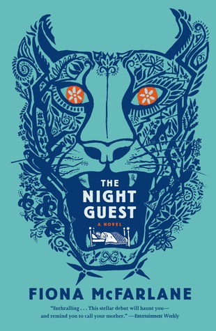 The Night Guest by Fiona McFarlane - lost person poster