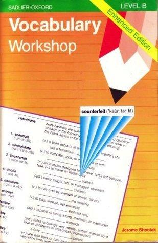 Vocabulary Workshop by Jerome Shostak - vocabulary workshop level d answers