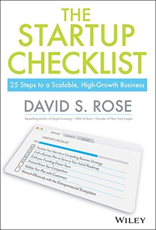 The Startup Checklist 25 Steps to a Scalable, High-Growth - business startup checklist
