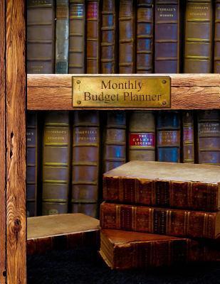 Descargar PDF Monthly Budget Planner Bill Organizer Book with