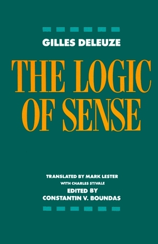 Read Books The Logic of Sense Online