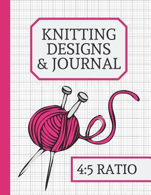 Knitting Designs  Journal Knitting Journal to Write In, Half Lined